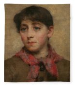 A Newlyn Maid Fleece Blanket