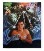 A Nightmare On Elm Street 1984 Fleece Blanket