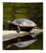 A Painted Reflection Fleece Blanket