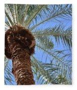 A Palm In The Sky Fleece Blanket