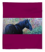 A Passing Glance From Hero Fleece Blanket