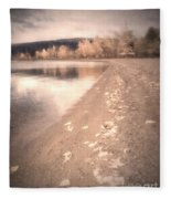 A Pastel Afternoon Fleece Blanket