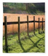 A Path Seldom Taken Fleece Blanket