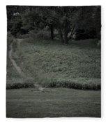 A Path Traveled Fleece Blanket