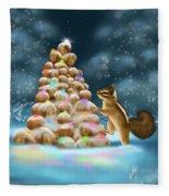 A Perfect Christmas Tree Fleece Blanket