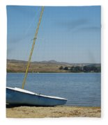 A Perfect Day For Sailing Fleece Blanket