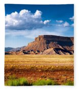 A Perfect Day Out West Fleece Blanket