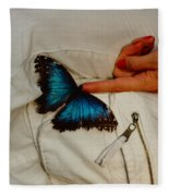 A Personal Touch Fleece Blanket