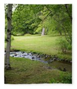 A Place To Dream Awhile Fleece Blanket