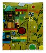 A Place To Grow II Fleece Blanket