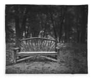 A Place To Sit 6 Fleece Blanket