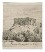 A Powder Magazine In Central Park From Scenes Of Old New York, By Henry Farrer, 1844-1903 Fleece Blanket