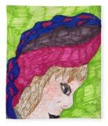 A Pretty Hat Fleece Blanket