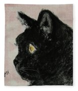 A Purrfect Vision Fleece Blanket