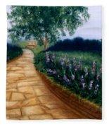 A Quiet Place Fleece Blanket