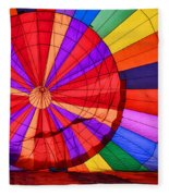 Temecula, Ca - A Rainbow Of Colors Fleece Blanket