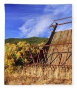 A Reminder Of The Past Fleece Blanket