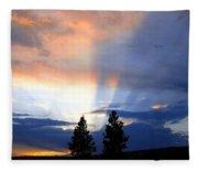 A Riveting Sky Fleece Blanket