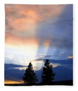 A Riveting Sky Fleece Blanket