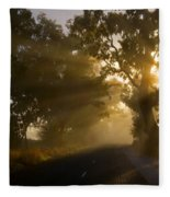 A Road Less Traveled Fleece Blanket