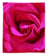 A Rose Is A Rose Is A Rose Fleece Blanket