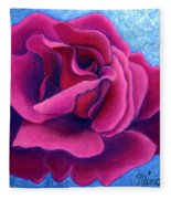 A Rose Is A Rose.. Fleece Blanket