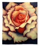 A Rose Fleece Blanket