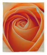 A Rose Like None Other Fleece Blanket