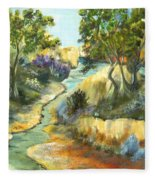 A Sandy Place To Rest Fleece Blanket