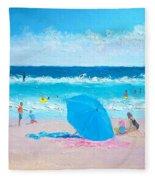 A Sea Breeze Fleece Blanket