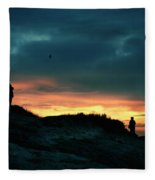 A Sense Of Loss Fleece Blanket
