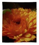 A Shadowed Blossom  Fleece Blanket