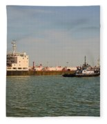 A Ships Guide Fleece Blanket