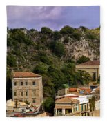 A Sicily View Fleece Blanket