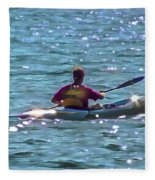 A Solitary Afternoon 2015 Fleece Blanket