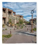 A Southwest Community Fleece Blanket
