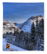 A Spectacular Drive Fleece Blanket