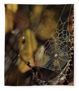 A Spiders Creation Fleece Blanket