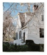 A Spring Day In Colonial Williamsburg Fleece Blanket