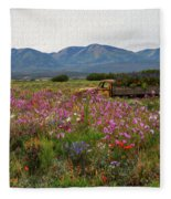 A Sunday Afternoon Drive Fleece Blanket