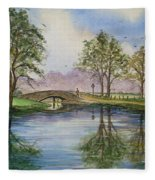 A Sunday Stroll Fleece Blanket