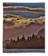 A Sunny Day On The Kachemak Bay Fleece Blanket