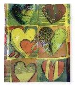 A Sunny Valentine Fleece Blanket