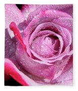 A Sweet Sweet Rose Fleece Blanket