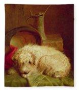 A Terrier Fleece Blanket