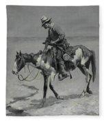 A Texas Pony Fleece Blanket