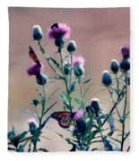 A Thistle Community Fleece Blanket