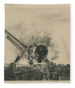 A Time For Courage Fleece Blanket