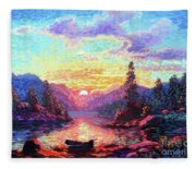 A Time For Peace Fleece Blanket