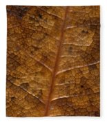 A Touch Of Fall Fleece Blanket